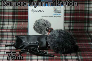 foto kamera - Azərbaycan: Kamera ucun mikrafon