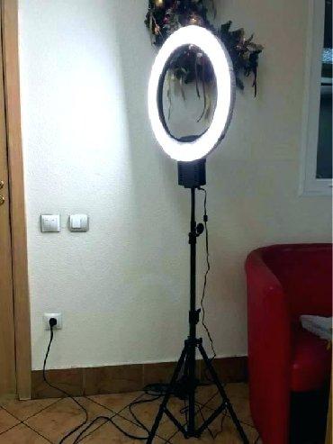 Svetla | Srbija: Profi Led ring svetlo za slikanje i šminkanje 12inc Uključuje mini tro
