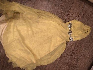 вечерние платья со шлейфом в Кыргызстан: Вечерное Платье шифон, на одно плечо со шлейфом