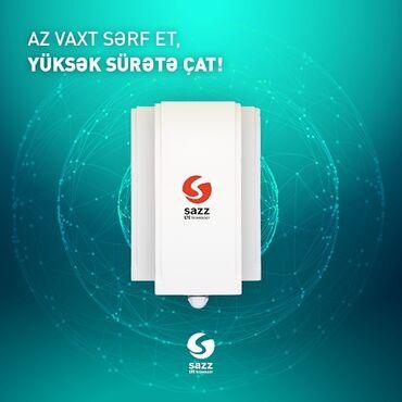 wifi modem - Azərbaycan: Sazz Cpe-8101 Outdoor modemiBağ və Bakı ətrafı mənzillər ofisləri üçün