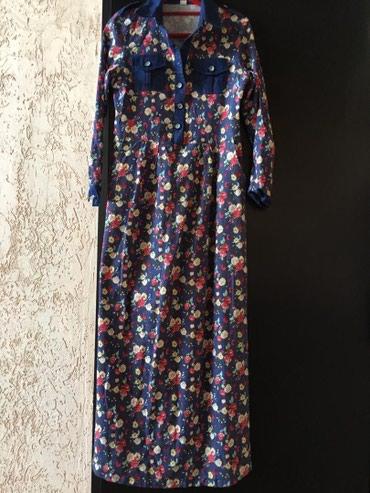 вотсап в Кыргызстан: Джинсовое платье. размер 42-44 звонить вотсап мини торг