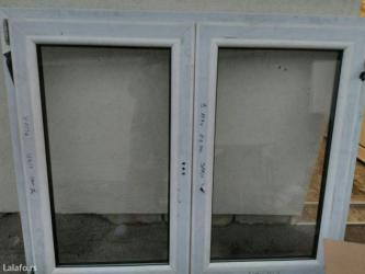 Novi pvc prozor petokomorni sa niskoemisionim staklom, dimenzija