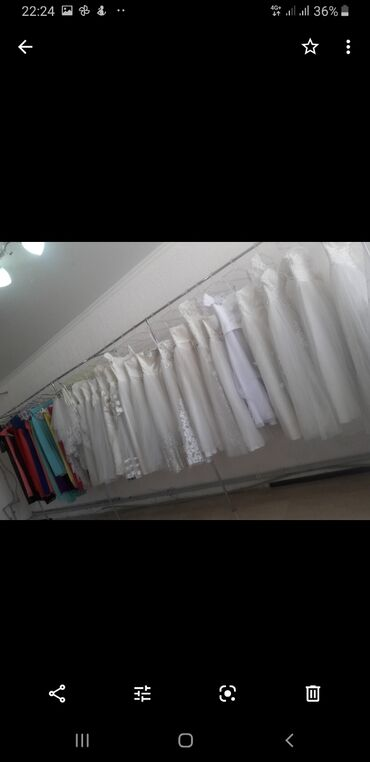 Флипчарты подставка для досок двусторонние - Кыргызстан: Девочки срочно продаю для свадебного салона свадебные платья в предела