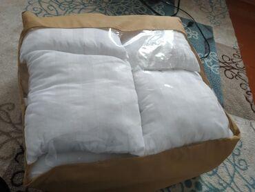 Продаются новые подушки бортики на кроватку 12штук, цвет белый.  Цена