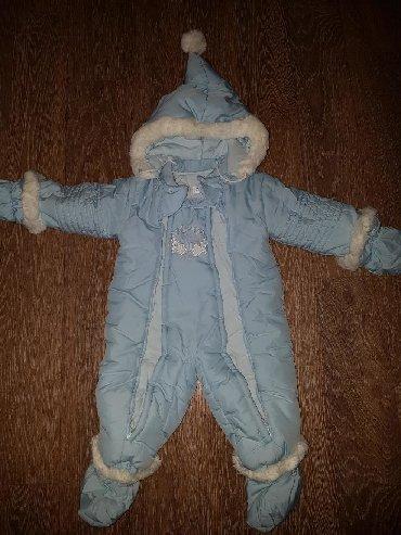 детские комбинезоны на 3 года в Кыргызстан: Продаю зимний детский комбинезон. Отличное состояние. Рост на бирке
