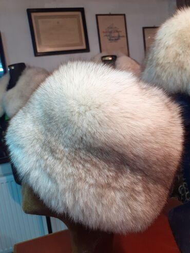 Subara polarna lisica. Obim 60cm. Prirodno krzno