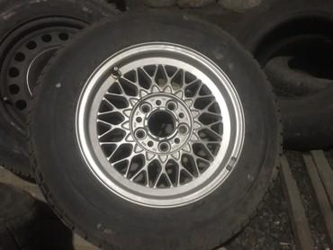 диски bmw в Кыргызстан: Резина 225 60 R15 новые пара с запасок от БМВ BMW Pirelli P600Резина