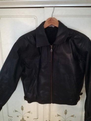 Muska kožna jakna, vel. M/l, stanje vidljivo na slikama. 0 - Petrovac na Mlavi