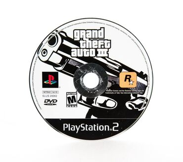 Elektronika Qubada: Ps2 Grand Theft Auto 3 ( Gta 3 )
