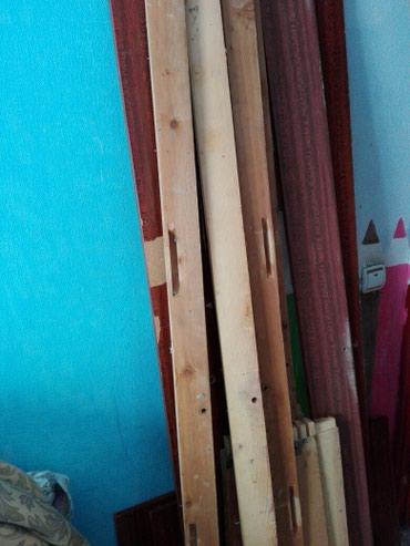 Продаю кровати б/у разобранные в хорошем состоянии в Бишкек