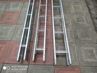 Лотки стальные лестничные: для прокладки проводов и кабелей при