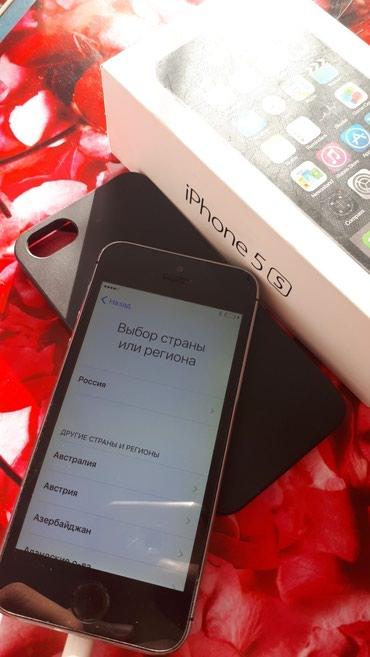 Iphone 5s 32gb залочен на оператора продам в Бишкек