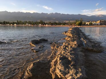 «Кыргызское Взморье» квартиры на берегу ! От берега 300 метров кварт