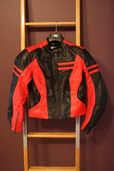 Moto jakna - Srbija: Ženska profesionalna kožna motoristička jakna IXS -