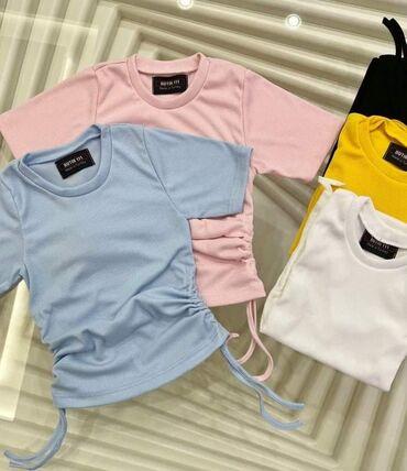 Ženske majice - Novo - Sivac: 2 za 1400  Rebrasti pamuk elastin Univerzalna veličina