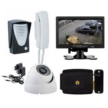 Kameraların quraşdırılması - Azərbaycan: Tehlukesizlik kameralarının Domofonlarin. satışı quraşdırılması və