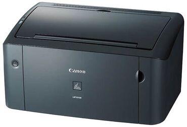 Принтеры - Кыргызстан: Принтер Canon lbp3010b. Работает Печатает четко чисто. Состояние