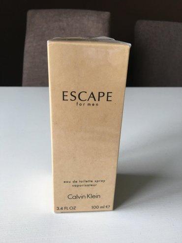 Ellen-amber - Srbija: Calvin klein escape for men je vatren i avanturistički parfem namenjen