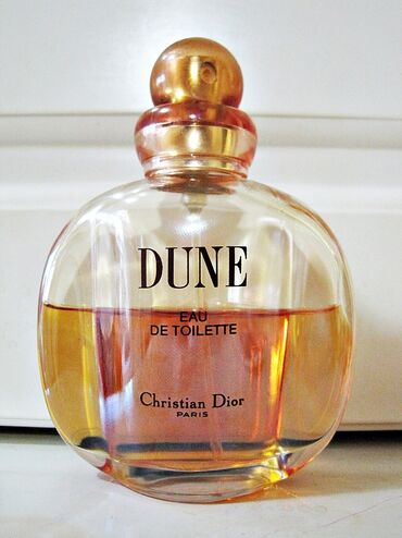 Duka - Beograd: Dune Christian Dior  edt 50ml, prikazano na slikama koliko jos ima