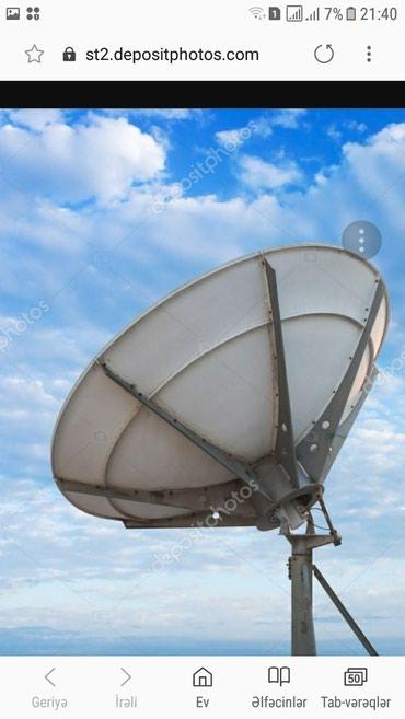 Bakı şəhərində Krosna peyk antenalarin kreditle satisi  300 turk kali 20 azeri russ