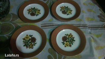 Porcelanski unikatni tanjiri savrsenog kvaliteta - Cuprija