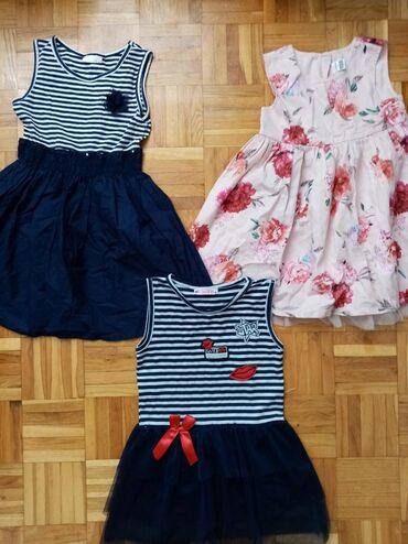 Decije haljine | Srbija: 3 za 700 vel 3