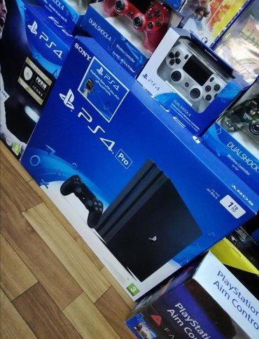 Sony PlayStation 4 Pro 1TB. TAM BAĞLI UPOKOVKADA ORGİNAL. Sony