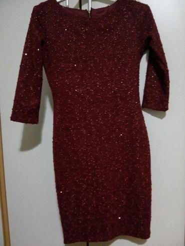 Svecana haljina,boja bordo,vel.M,Nova.... - Nis
