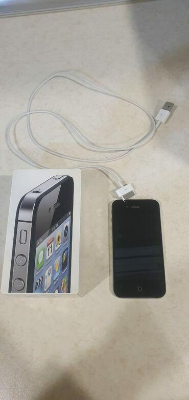 зарядка iphone 4s в Азербайджан: IPhone 4S 16 ГБ Черный