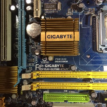 вязаное пляжное платье в Кыргызстан: Мат плата GIGABYTE Intel Socket 775 с процессором в комплекте!