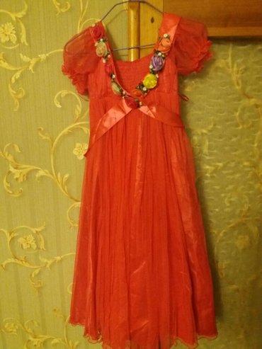 Платье на девочку 6-7 лет в Лебединовка