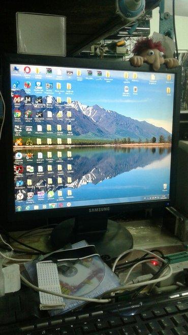 бу монитор samsung в Кыргызстан: Продаю монитор samsung 17 дюймов 1000сом окончательно