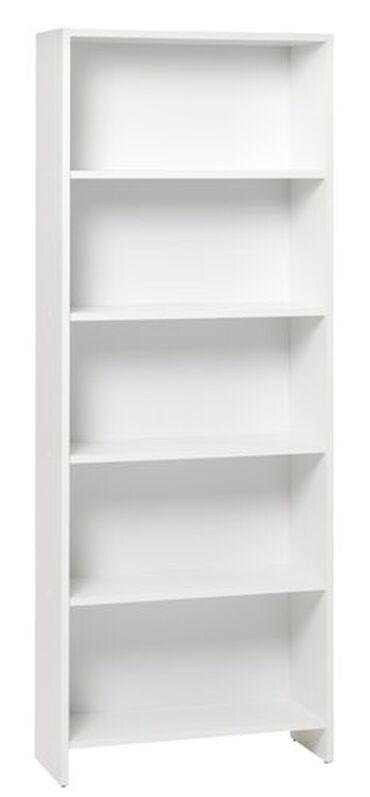 Prodajem koriscenu belu policu za knjige