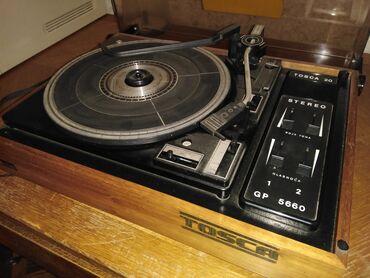 Gramofon - Srbija: Stari dobri gramofon TOSKA. Očuvan. Pitajte sve što vas zanima