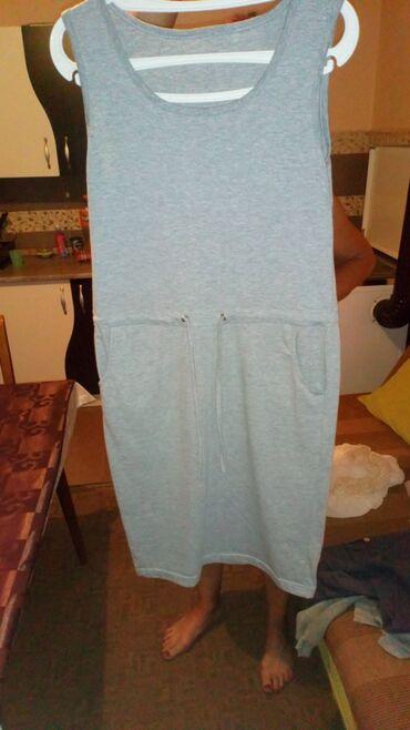 Personalni proizvodi | Cacak: Siva haljinica, prijatan materijal, odgovara M-L veličini, moze i za