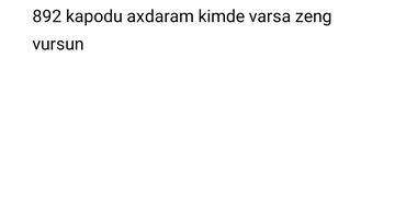Mtz 892 - Azərbaycan: 892 kapodu axdaram kimde varsa zeng vursun
