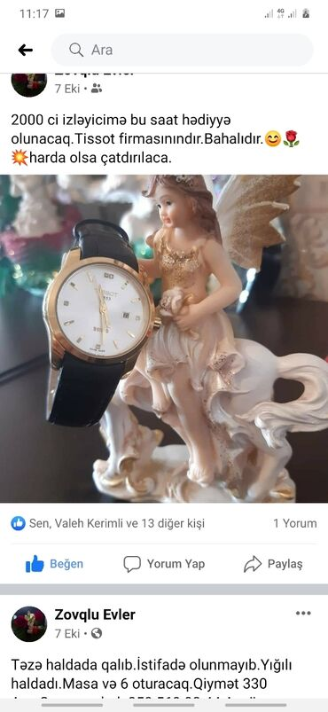Soxulcan satilir - Azərbaycan: Qızılı Qadın Qol saatları Tissot
