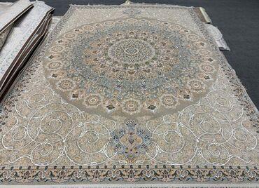 İran İstehsalı Xalça Orijinal yun ipək qatışığ Keyfiyyet Sıxlığ Ela