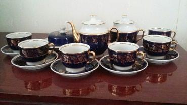 Чайный сервиз. советских времен. полный набор. цена 100 манат в Bakı