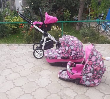 nano textile в Кыргызстан: Продается польская коляска nano riko 3в1 в хорошем состоянии!!!есть