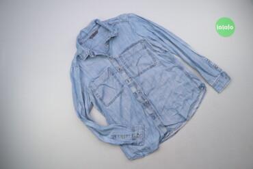 Чоловіча джинсова сорочка р. М   Довжина: 64 см Довжина рукава: 57 см