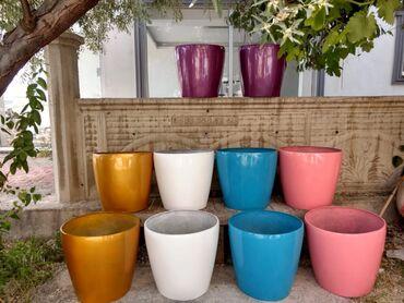 Ev üçün dekor Azərbaycanda: Hernov turkiye istesali olan gul qablari