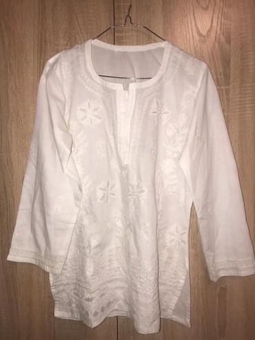 Рубашки и блузы - Кок-Ой: Рубашка отличная как туничка размер L легкая, тоненькая на лето в