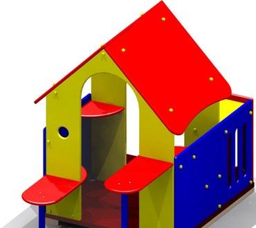 Детский игровой домик Размер: 1900*1260*1630 мм в Бишкек