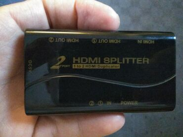 2 HDMI SPLITTER