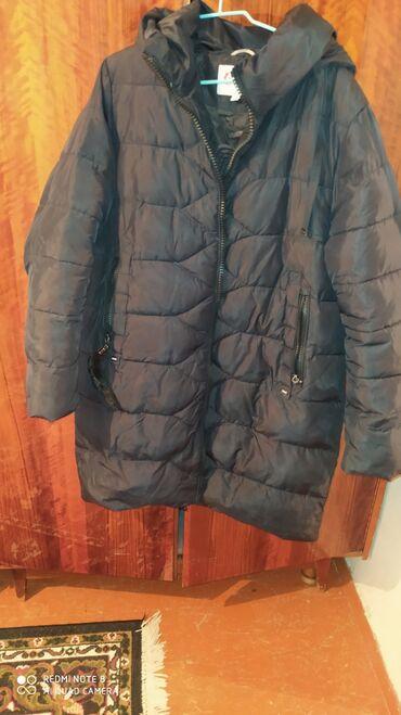 Продаётся женская зимняя куртка. 54-размер. Тёплая и лёгкая. Состояние