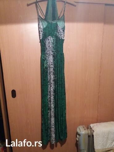 Haljina samo nova... Jako lep i prijatan materijal i neobican model - Vrnjacka Banja