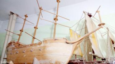 корабли ручной работы в Азербайджан: Корабли ручной работы, вырезал и собирал сам. Продам в паре или по