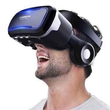 3D və 360 dərəcə videolara baxmaq üçün Vr boxlar, tam original göz
