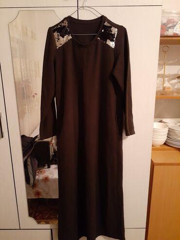 Продаю платья на посидневку размер 46,48 длинная материал плотный